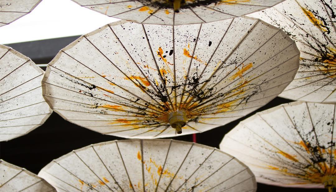 Japanese art and performance  Tonjiru Carnival(トンジル(豚汁カーニバル)